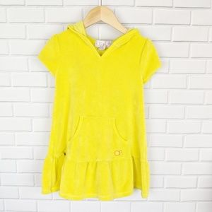 Op | Yellow Terrycloth Swim Cover up